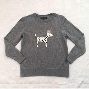 Gray Banana Republic Dalmatian Sweater